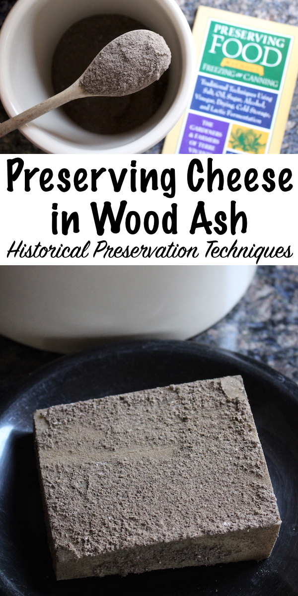 Preserving Cheese in Wood Ash ~ Historical Food Preservation Methods ~ Learn how our people preserved foods in wood ash before the advent of refrigeration.  Meat, eggs and even cheese were preserved in hardwood ashes for long term storage. #foodpreservation #historical #homesteading
