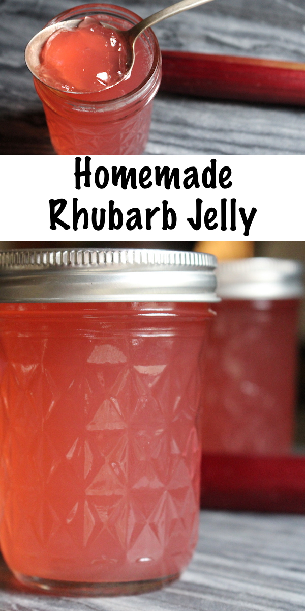 Homemade Rhubarb Jelly