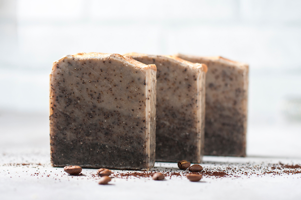 Used Coffee Grounds Soap
