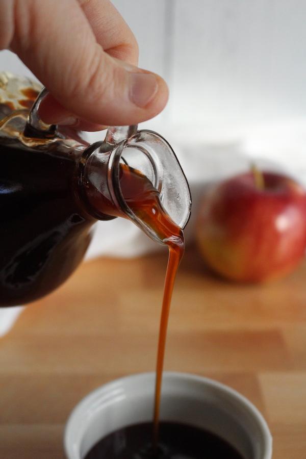 Homemade Boiled Cider (Apple Cider Syrup)