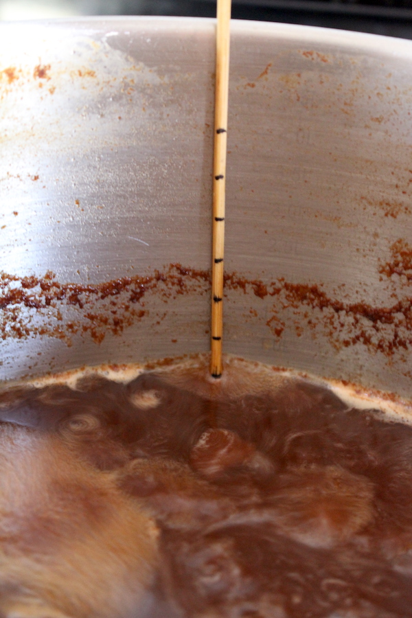 Making Cider Syrup
