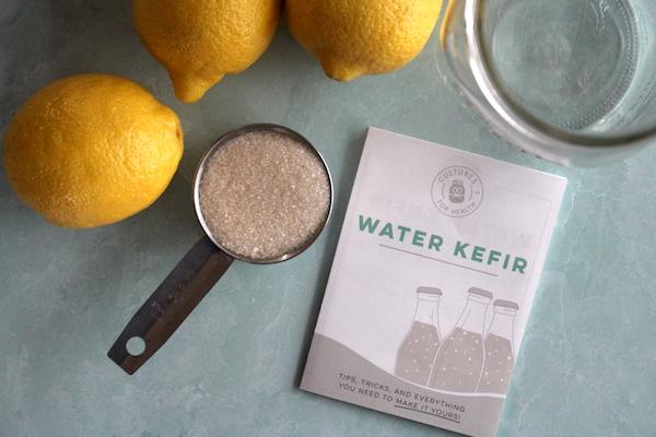 Water Kefir Ingredients