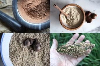 Wild foraged flour