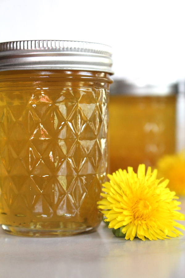 Homemade Dandelion Jelly