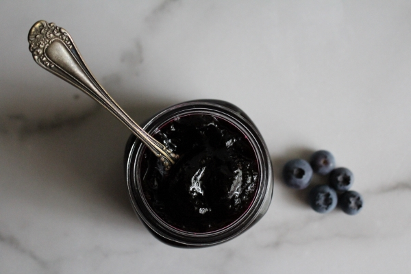 Homemade Blueberry Jelly
