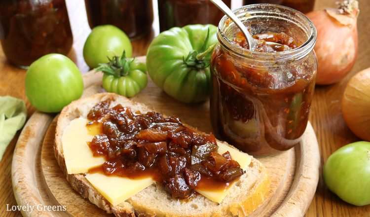 Green Tomato Chutney from Lovely Greens