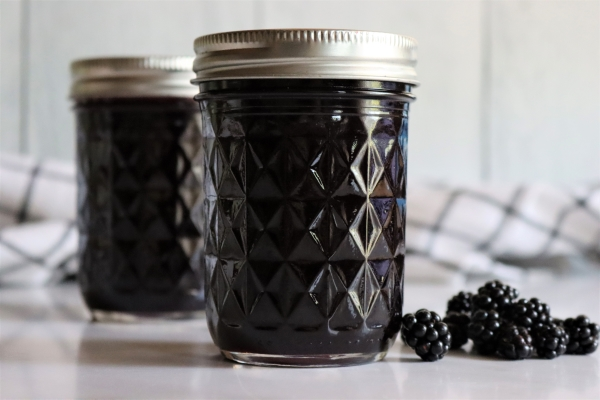homemade blackberry jelly