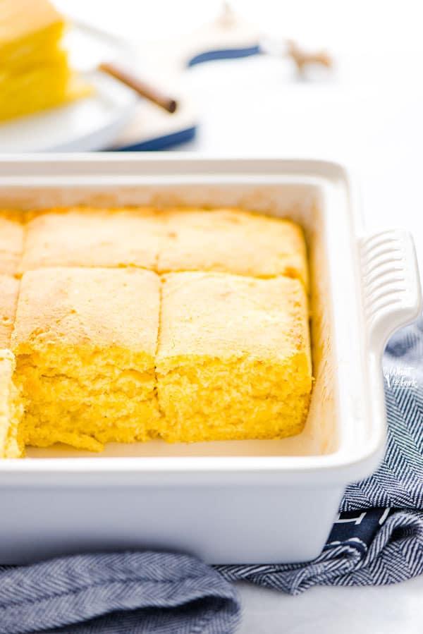 Gluten Free Sourdough Cornbread from What the Fork Blog