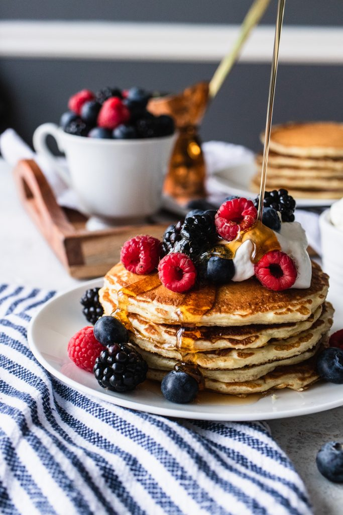 Overnight Sourdough Pancakes from Good things baking company