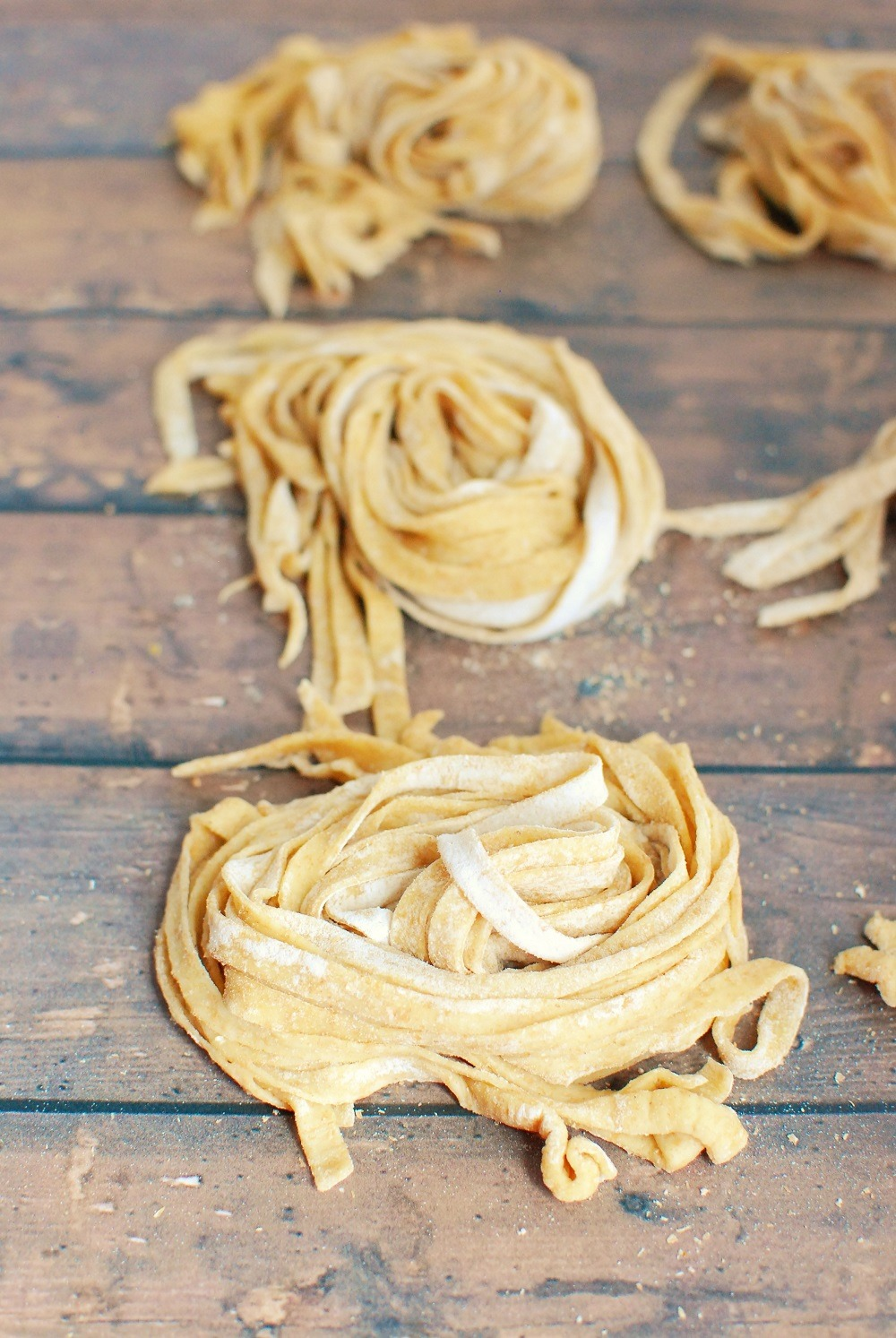 Sourdough pasta from snacking in sneakers