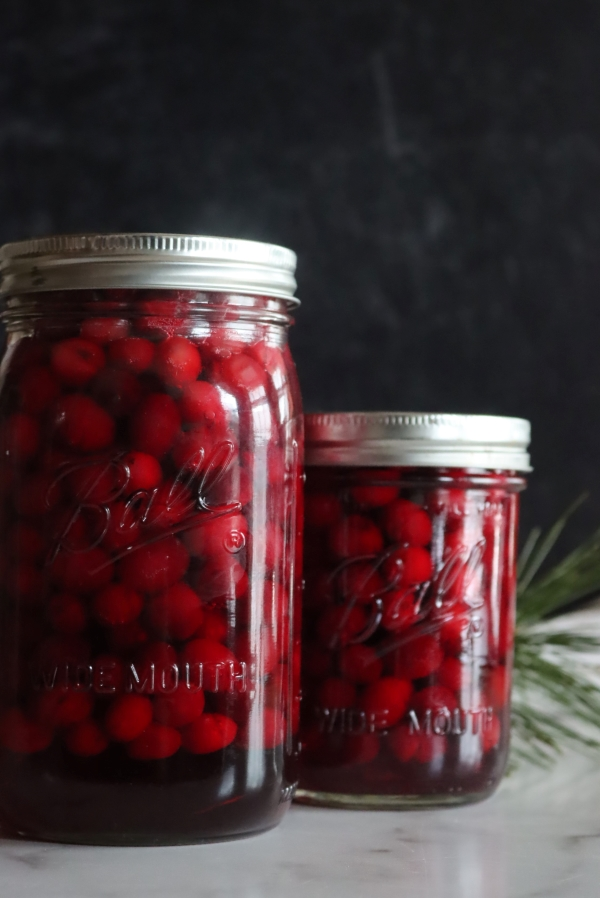 Canning Whole Cranberries with Hot pack Method