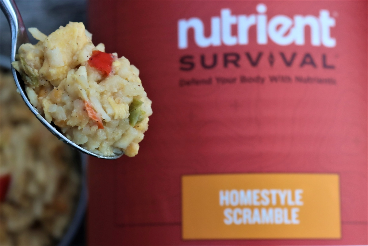 Nutrient Survival Homestyle Scramble