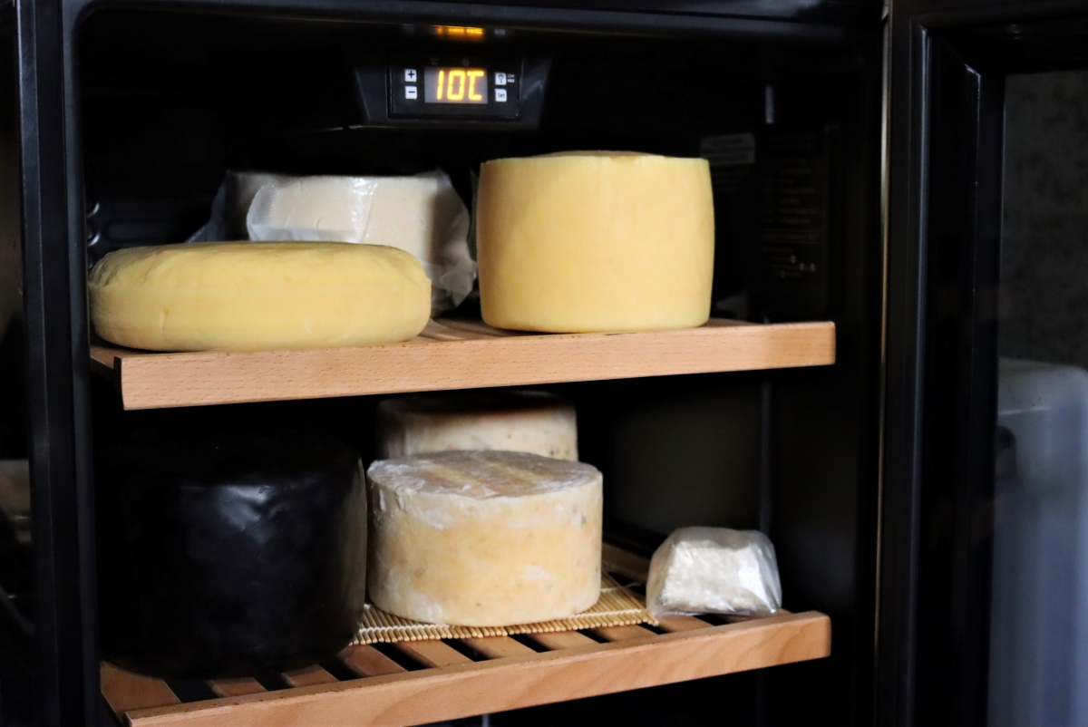 My home cheesecave as a beginning cheesemaker