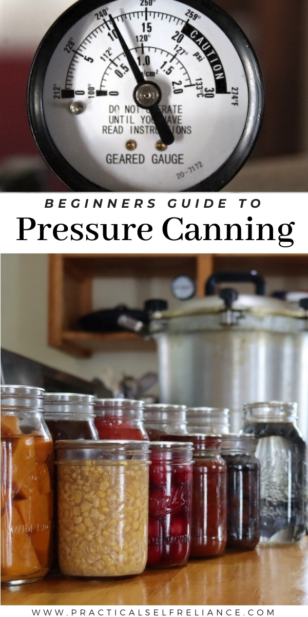 Beginners Guide to Pressure Canning