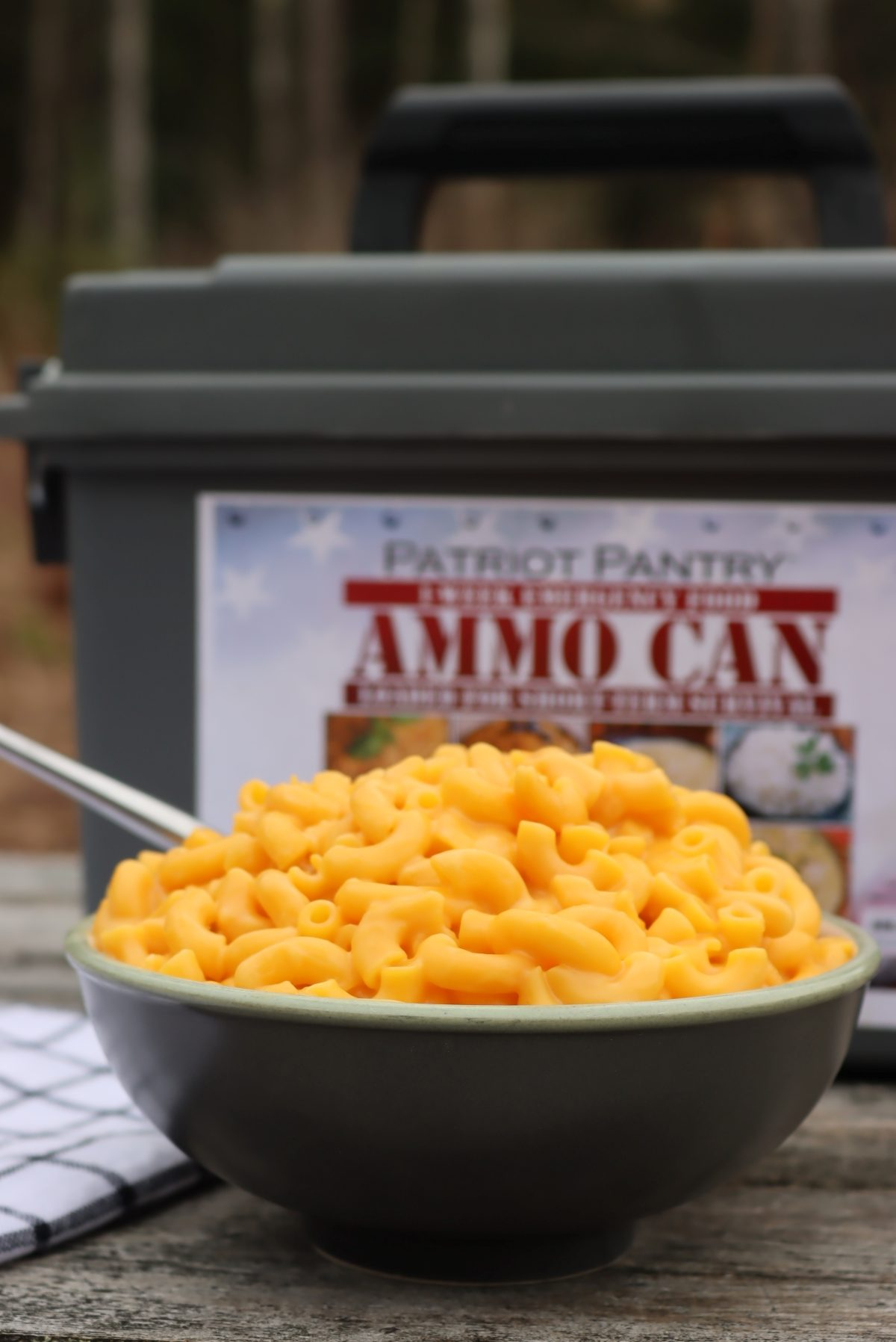 My Patriot Pantry Mac and Cheese