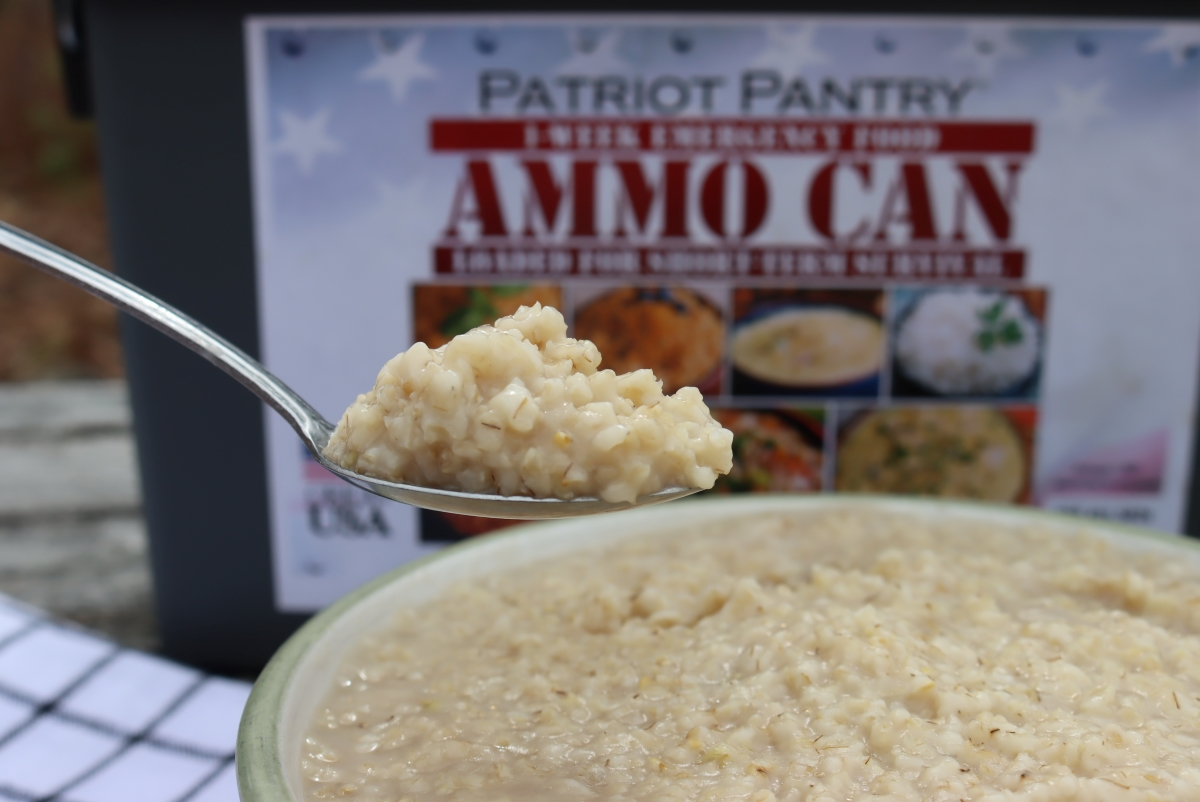 My Patriot Pantry Oatmeal