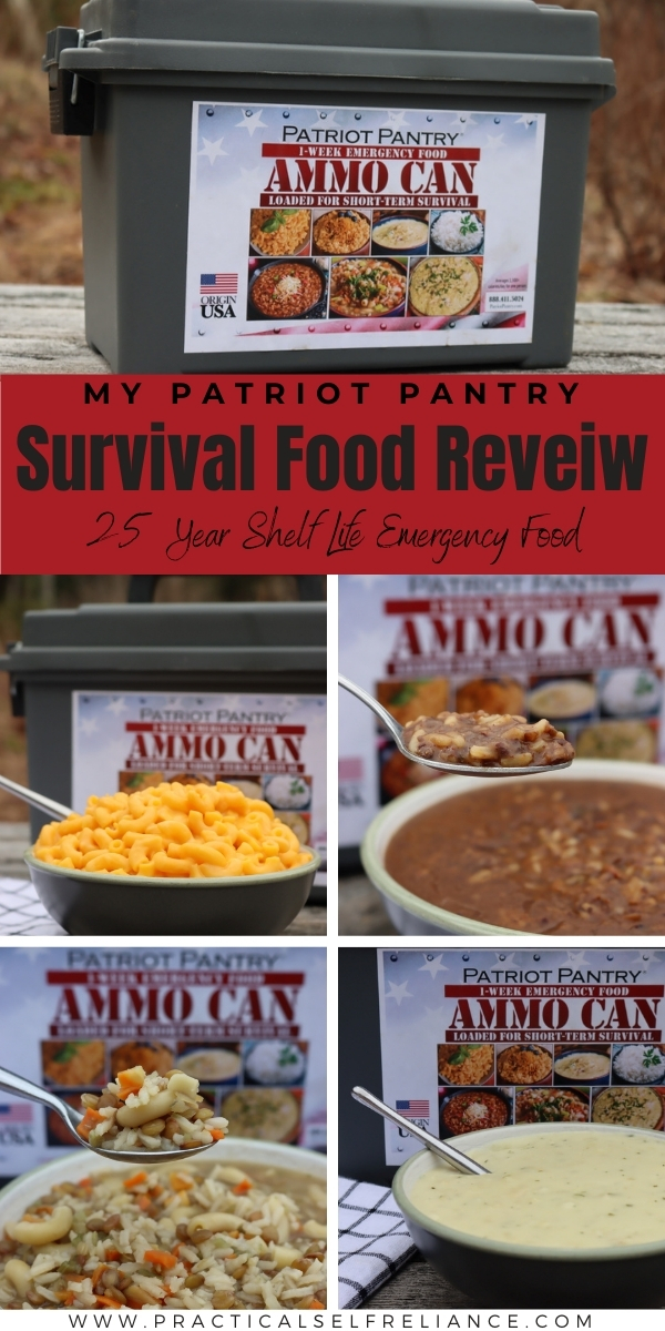 My Patriot Pantry Review