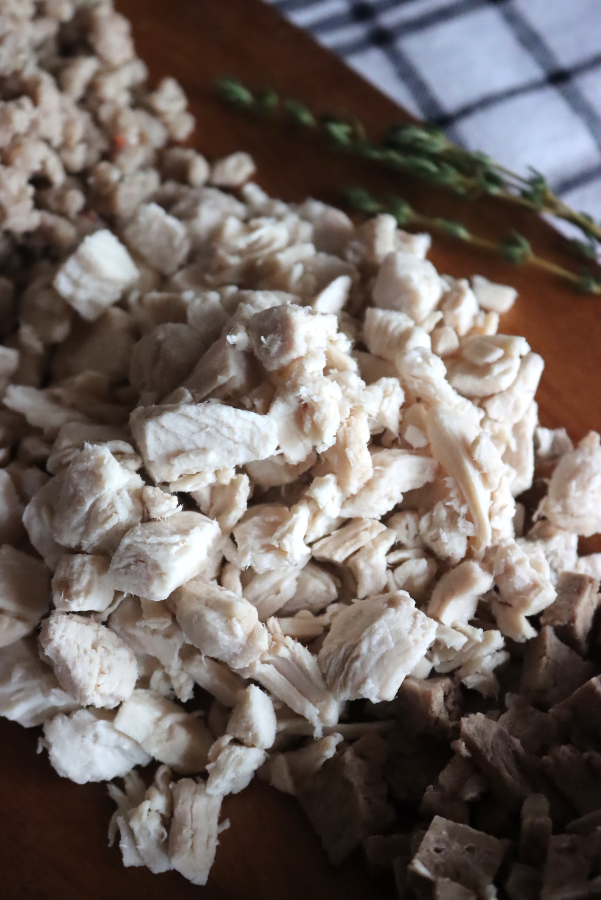 Fully Rehydrated Freeze Dried Chicken (Ready to Eat)