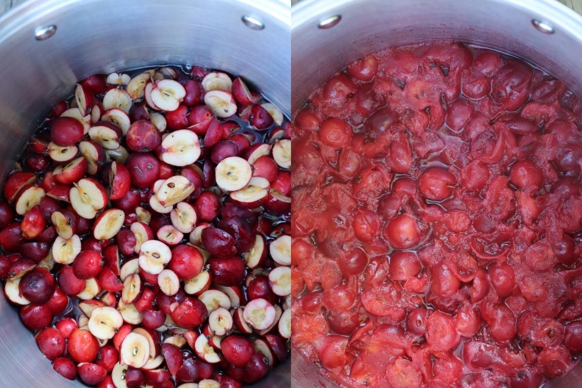 Making Crabapple Jelly