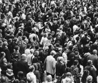 A Large Crowd