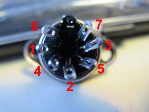 MIDI Pin Numbers