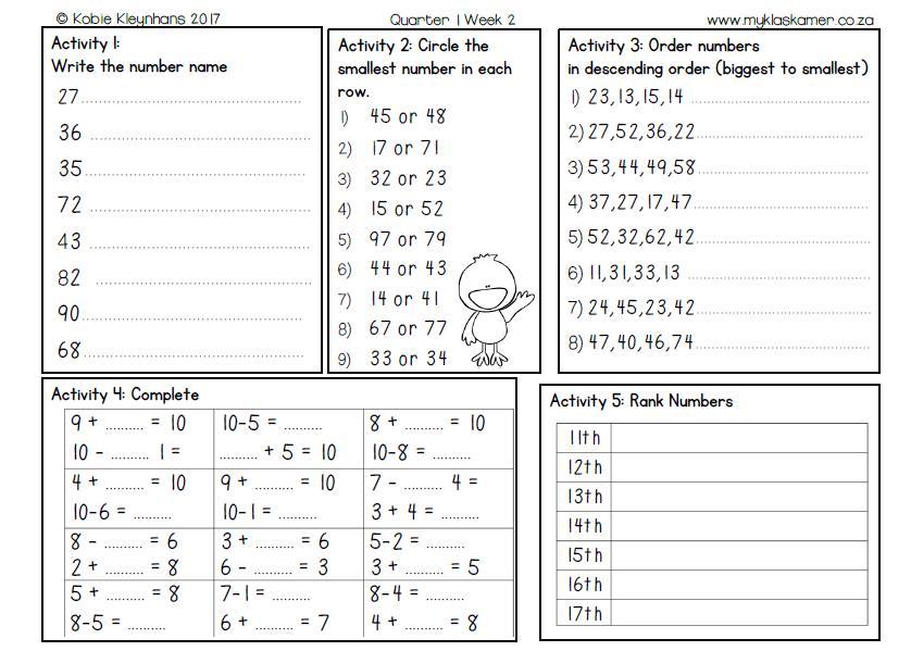 Mental Math Exercises For Grade 3 – Practice Worksheets