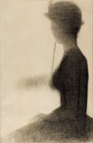 Georges_Seurat_-_Seated_Woman_with_a_Parasol_(study_for_La_Grande_Jatte)_-_Google_Art_Project