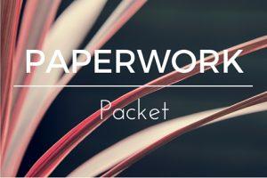 paperwork packet