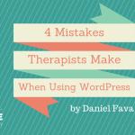 4 Mistakes to workpress