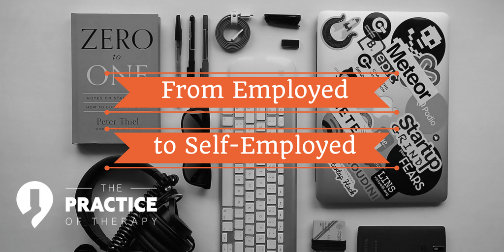 from employed to self-employed