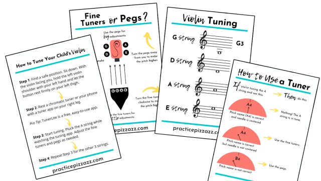 how to tune violin guide