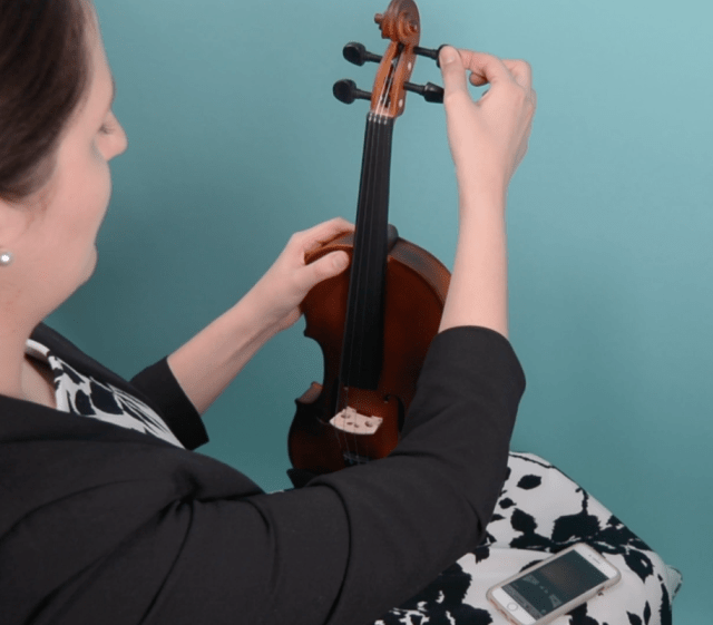 how to tune a violin