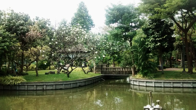 Park by the Grand Palace