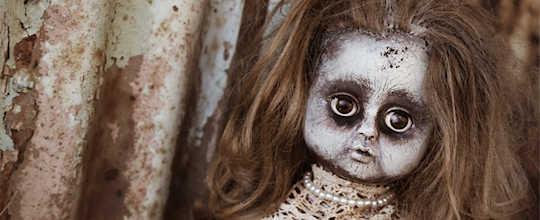 damaged doll