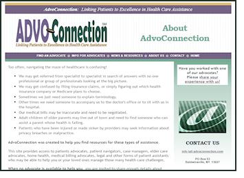 old AdvoConnection site