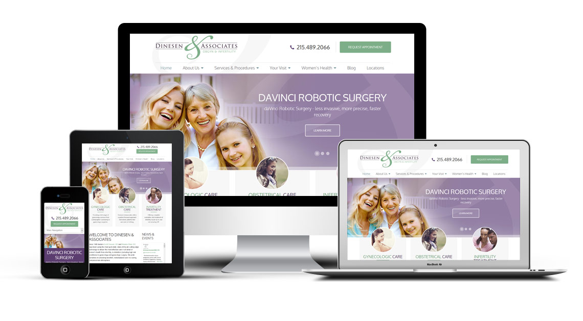 OBGYN Marketing and Website Design