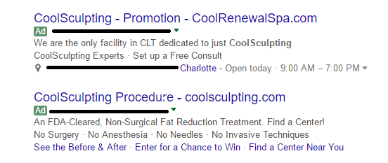 example of 2016 google ads