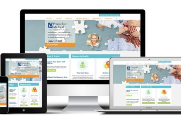Pentucket Medical's responsive website was built by Practis Inc.