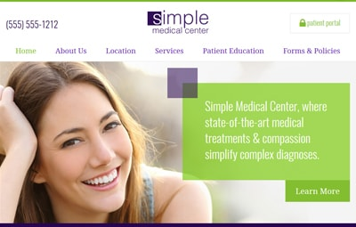 Wright medical website theme