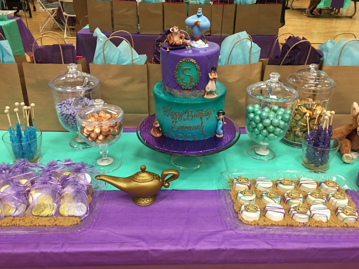 Savannah's Princess Jasmine 4th Birthday