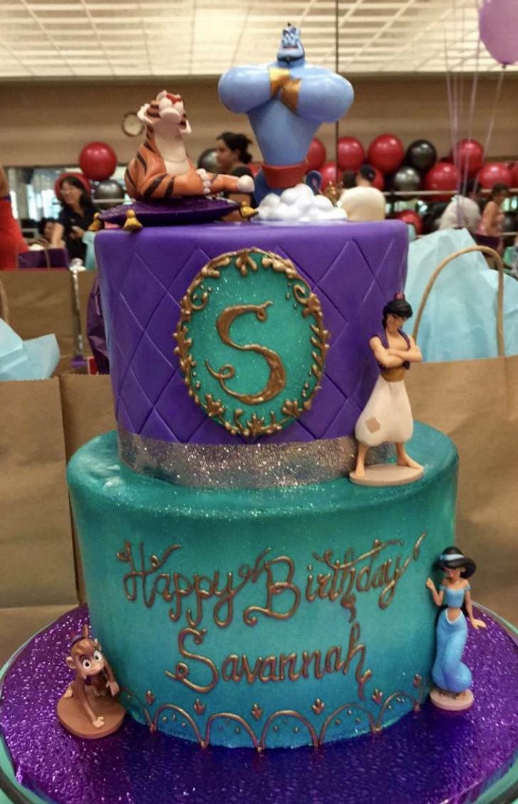 Princess Jasmine Birthday - PradaMeetsPurell.com