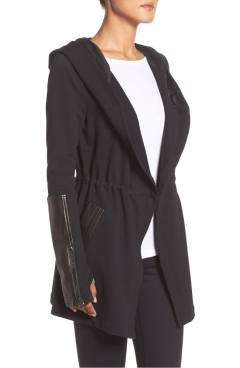 Blanc Noir Traveler Wrap Jacket