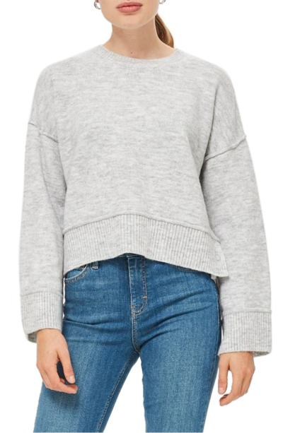 Topshop Popper Sweater