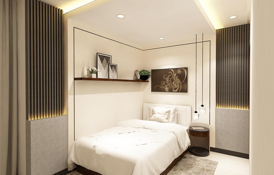 Desain Interior Apartemen Minimalis - KID Bed Room -Master Bed Room 2 - Jakarta