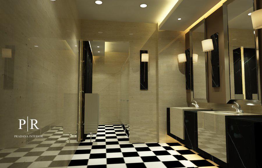 Desain interior toilet Belleza - male kotak