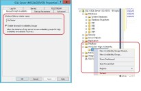Step 5 Enable AAG on all SQL node from Configuration Manager & Create Availability Group)