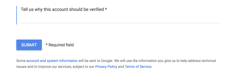 Google knowledge panel why verified