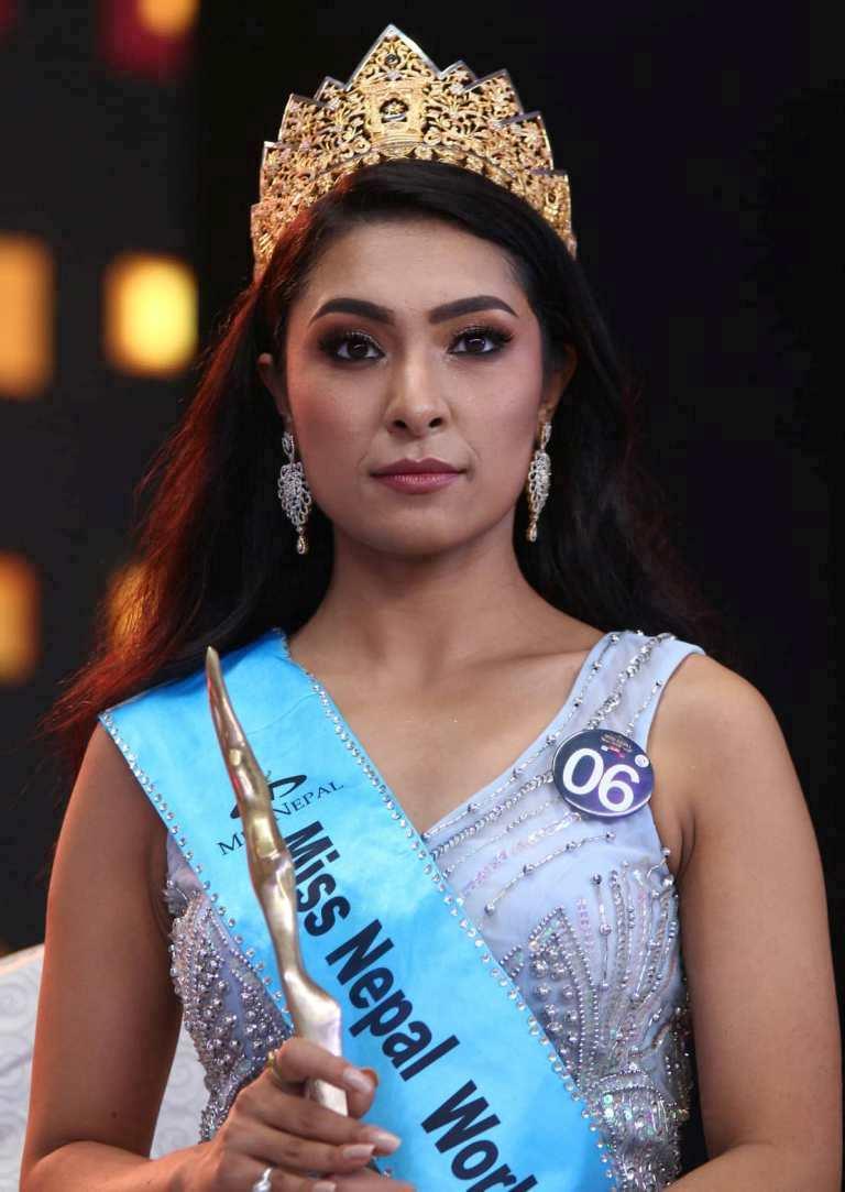 'मिस नेपाल वर्ल्ड–२०१९'को ताज अनुष्का श्रेष्ठलाई