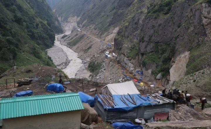 भारतले नेपाली भूमिमा निर्माण गर्यो सडक (फोटो फिचर)