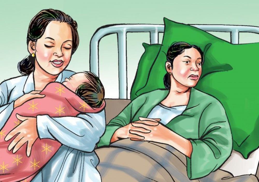 बिपी कोभिड अस्पताल धरानमा कोरोना सङ्क्रमितबाट शिशुको जन्म